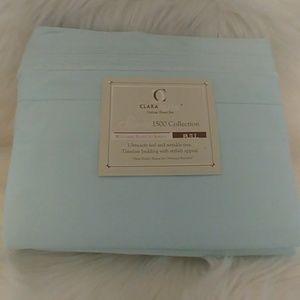 Clara Clark Deluxe Tiffany Blue Full Sheet Set…